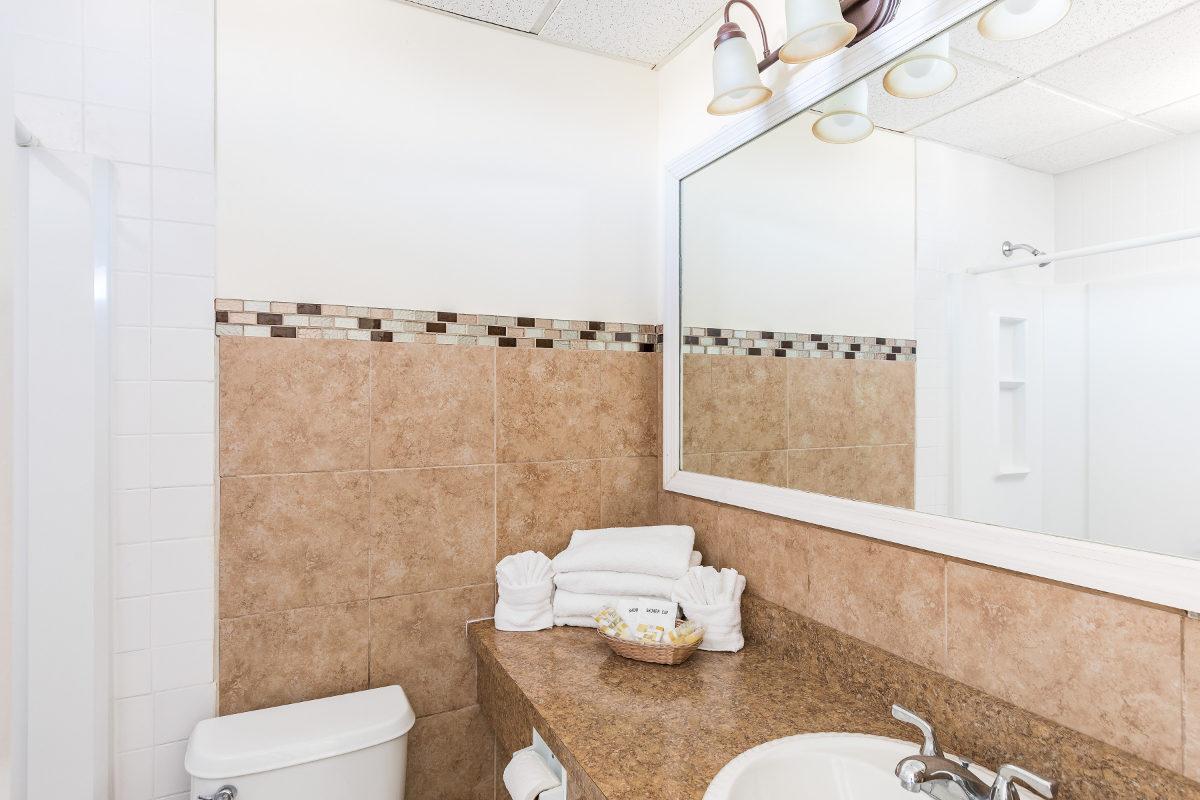 Oceanfront Gold Bathroom